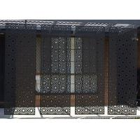 Quality powder coated  decorative laser cut  metal screen     perforated metal for sale
