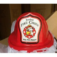 Wholesale Junior Fire Chief Firefighter Hat,Toy-Kids-Fire-Helmet,Firehouse Subs hat from china suppliers