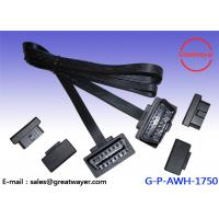 Wholesale PVC 16 Pin Male OBD2 Wire Harness , EOBD / Car Scanner / Can Fault Code Reader from china suppliers