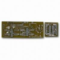 Wholesale Rigid LED Double-sided PCB, Made of FR-4, with 1.6mm Board Finished Thickness from china suppliers