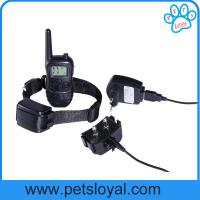 Wholesale Remote Dog Training Collar 300 Meters LCD Bark Stop Collar China Factory from china suppliers