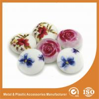 Wholesale Silkscreen Rose Buttons Garment Accessories Custom for Shirt , bag , suit , sweaters from china suppliers