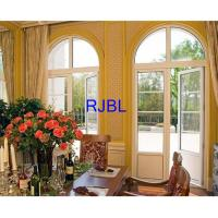 China Double Glass Wood Clad Replacement Windows Natural Laminated Conifer Lumbers on sale