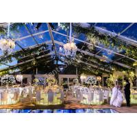 Wholesale Transparent Roof Tent Outdoor Wedding Marquee Aluminum Party Structure from china suppliers