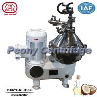 Wholesale PLC Control Self - Cleaning Disc Separator Centrifuge Brewery System With Belt Drive from china suppliers