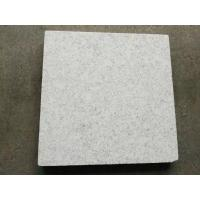 Quality White Natural Granite Tiles For Floors , Indoor Ourdoor Decoration Flooring Paving Stone for sale