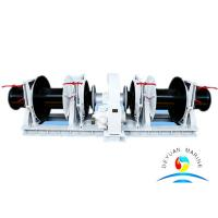 Wholesale Φ12.5 Hydraulic Mooring Marine Windlass With Single / Double Gypsies from china suppliers
