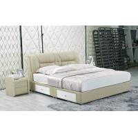 Wholesale J333,leather bed, living room home furniture,KD furniture from china suppliers