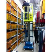 Wholesale Hydraulic Aluminum Alloy Aerial Order Picker Lift Semi - Electric 3.8m from china suppliers