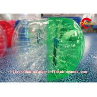 Wholesale 1.5m Soccer Inflatable Bumper Balls Tpu Human Sized Hamster Ball from china suppliers