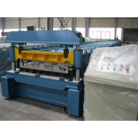 Wholesale 1219mm Width Metal Deck Roll Forming Machine / Cold Steel Roll Forming Machinery from china suppliers