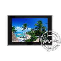 Wholesale Slim Black 22 inch Video LCD Display Wall , 16:10 Aspect Ratio from china suppliers