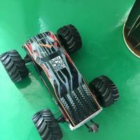 Wholesale Black Color 1/10th Electric Brushless RC Car With 200 – 300 Meters Control Distance from china suppliers