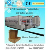 Wholesale Automatic Corrugated Carton Making Machine Slotter Die Cutter Lead Edge Feeding from china suppliers
