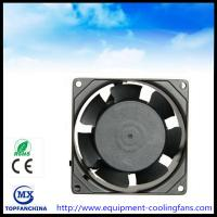 Wholesale Metal Ball Bearing Cpu Computer Case Cooling Fans , 110v - 240v Ac Axial Fan from china suppliers
