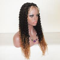 Wholesale Brazilian Human Hair Full Lace Wigs Ombre Color with dark roots from china suppliers