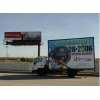 Wholesale SMD5050 Led Mobile Billboard P10 / full color truck outdoor advertising led display from china suppliers