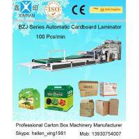 Wholesale E Flute Corrugated Cardboard Carton Making Machine Cardboard Laminator from china suppliers
