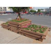 Wholesale PVC Wood Composite Flower Pots / WPC Outdoor Flower Pot Eco-Friendly from china suppliers