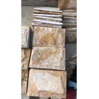 Wholesale New Yellow Slate Mushroom Stones,Pillar/Column Wall Stone,Exterior Stone Cladding,Landscaping Stone from china suppliers