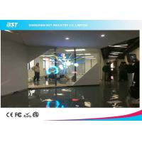 Wholesale P16 Curtain Led Display Screen With Transparent Panels For Stage / Event / Advertising from china suppliers