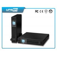 Wholesale 19 inch Rack/tower RS232 LCD 1kva -10kva UPS  without transformer from china suppliers