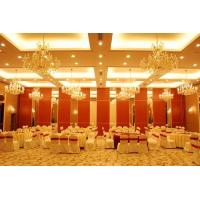 Wholesale Laminated Decorative Movable Partition Wall / Hotel Folding Room Divider from china suppliers
