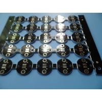 Wholesale Double Sided Metal Core PCB LED Board Black Aluminum Circuit Board from china suppliers