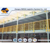 Wholesale 2 Levels Multi Tier Mezzanine Rack Steel Platform For Printing / Electronic Industry from china suppliers