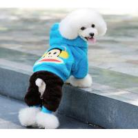 Wholesale Protective Bichon Frise Dog Hooded Sweatshirts clothes xxx small , Paul Frank pattern from china suppliers