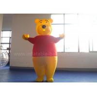 Wholesale Oxford Cloth Inflatable Winnie The Pooh Costumes For Adults Red And Orange from china suppliers