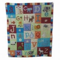 Quality Alphabet Baby Quilt for sale