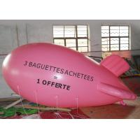 Wholesale Large Pink Inflatable Balloons For Advertising Event / Airship Balloon from china suppliers