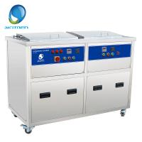 Wholesale Double Tank Industrial Ultrasonic Cleaner , Automotive Ultrasonic Cleaner 28khz or 40khz from china suppliers
