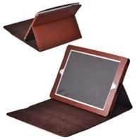 Wholesale Stylish Brown color  Ipad / Ipad2 protective cases, foldable leather case for men from china suppliers