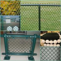 Wholesale ISO9001 galvanized and pvc coated chain link fence from china suppliers