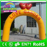 Wholesale Guangzhou QinDa Inflatable custom made with your logo advertising inflatable arch for race from china suppliers