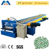 Wholesale High Strength Steel Floor Deck Roll Forming Machine with 45 forge Steel from china suppliers