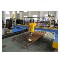 Wholesale 4000mm Gantry Type CNC Plasma Cutting Machine with vertical and horizontal cutting from china suppliers