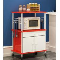 Quality Creative Simple Kitchen Storage Cabinet Shelf Two Layer for sale