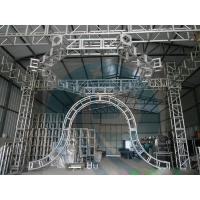 Wholesale Smart Rotating Aluminum Stage Truss System , Aluminum Roof Truss from china suppliers