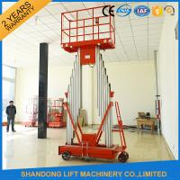 Wholesale Mini Light Weight Electric Truck Mounted Aerial Work Platforms 1.4 * 0.6 mm Table Size from china suppliers