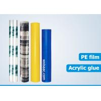 Wholesale PE blue hard floor protective film wholesale from china suppliers