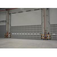 Wholesale Waterproof Sectional single sheet  Aluminum Overhead Door For workshop from china suppliers