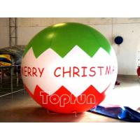 Wholesale Christmas Advertising Inflatable Balloon 3M Diameter PVC For Promotion from china suppliers