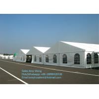 Wholesale 20x50m Structure Outdoor Event Tents With Strong Glass Wall For Big Exhibition / Fair / Show from china suppliers