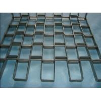Wholesale Stainless Honeycomb Belts,Flat Wire Mesh Belting,Air Quenching Flex Metal Conveyor Belt from china suppliers