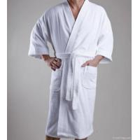 Quality Hotel Bathrobe With Kimono Collar for sale