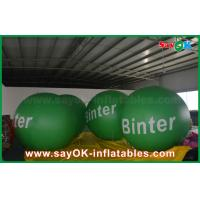 Wholesale 2.5m Green Giant Inflatable Led Helium Balloon for Advertising from china suppliers