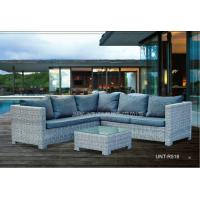 Wholesale Outdoor / Indoor Weatherproof Rattan Garden Furniture , Rattan Garden Sofa Sets from china suppliers